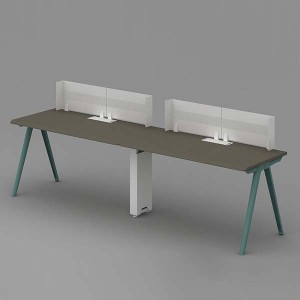 Neofront Desk Systems+Bench-Single side workstation/ extensionable staff table