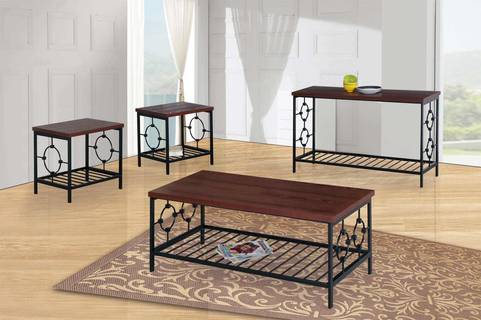 GS-CT809 3PC OCCASIONAL TABLE SET