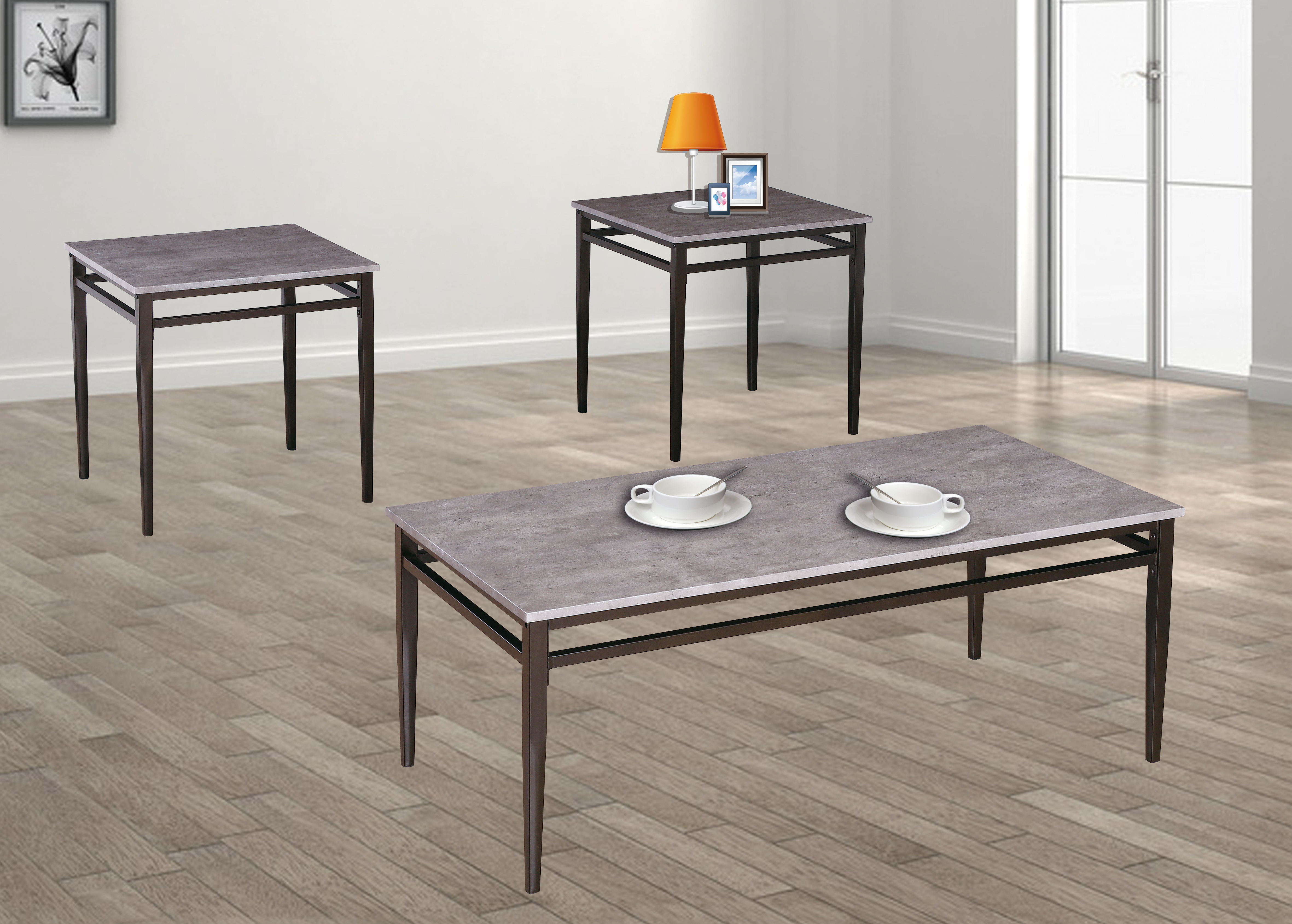 GS-CT851 3PC COFFEE TABLE SET