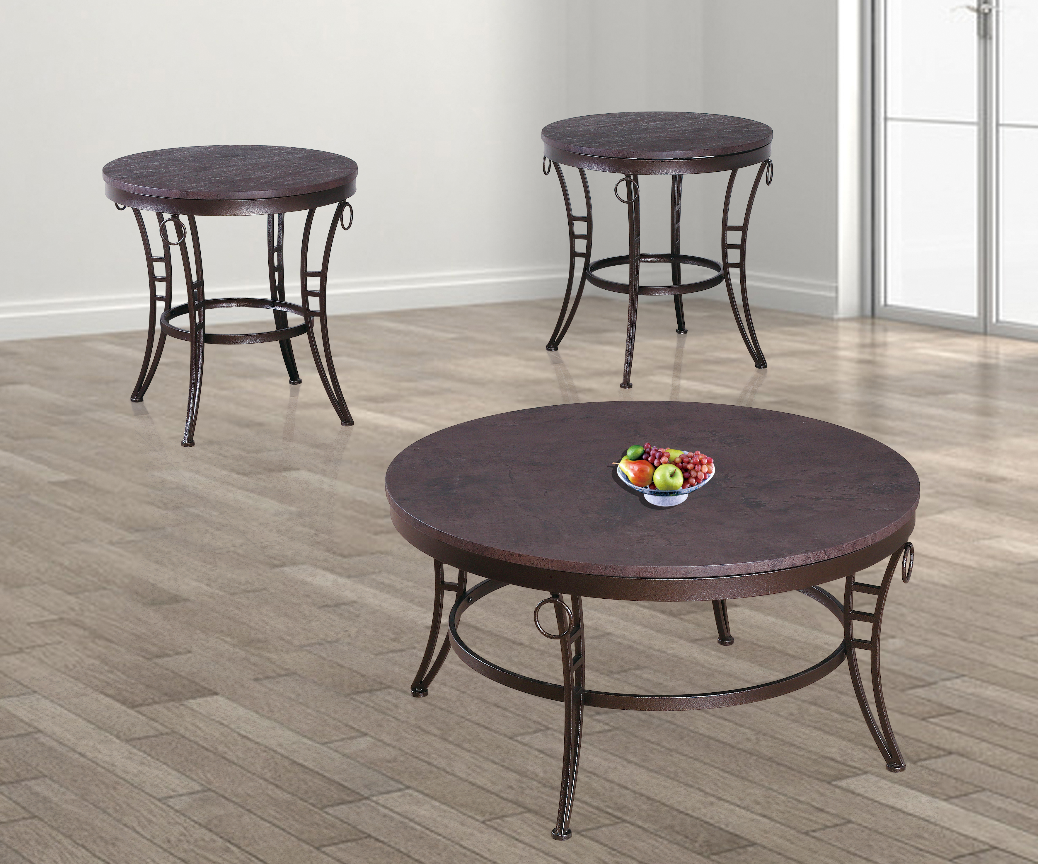 GS-CT854 3pc coffee table set