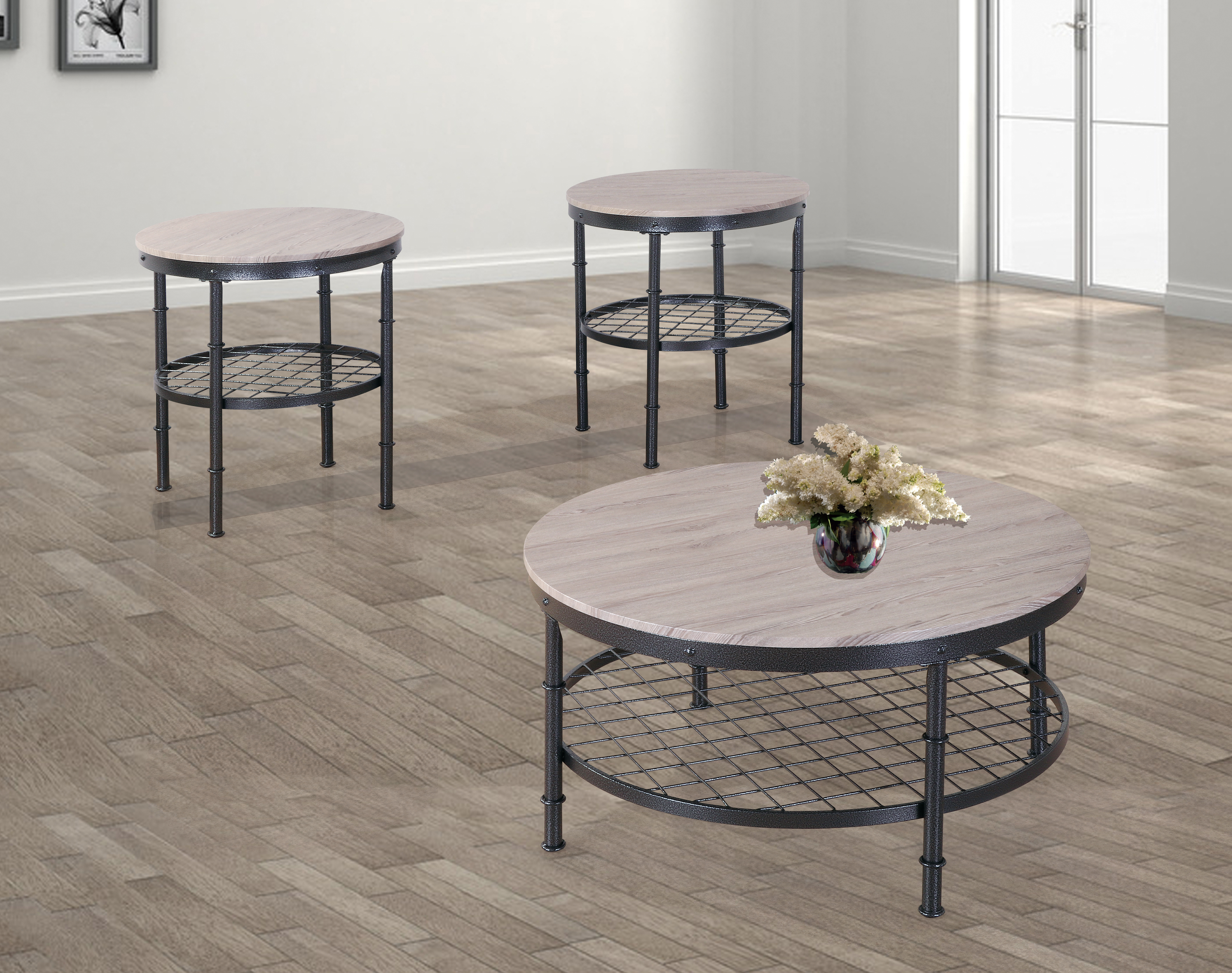GS-CT866 3PC COFFEE TABLE SET