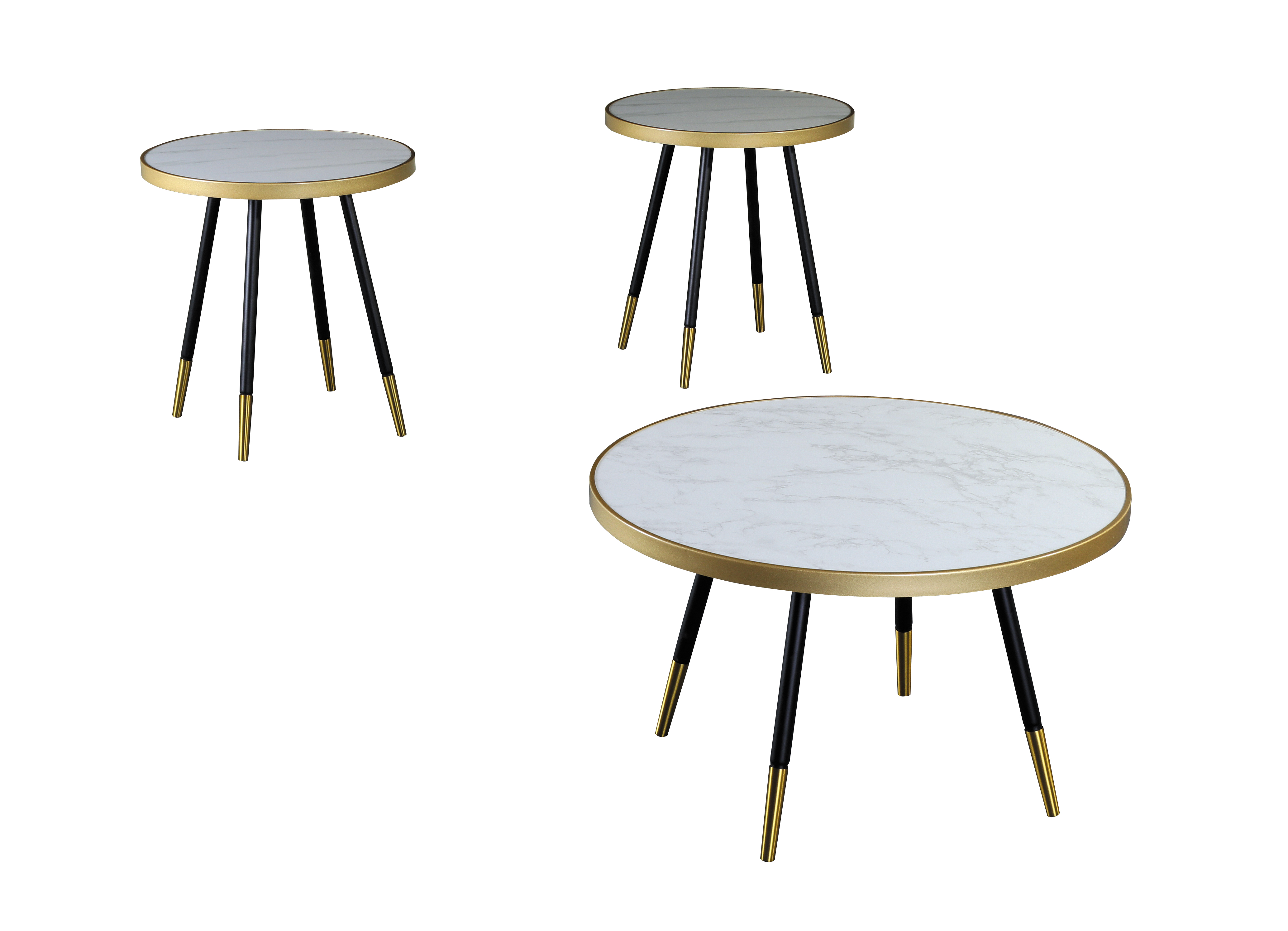 GS-CT917 3pc coffee table set