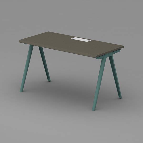 Neofront Desk Systems+Bench-Single side workstation/ extensionable staff table Featured Image