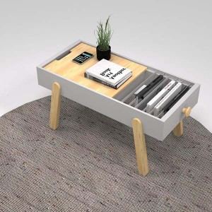 Top Suppliers Gloss Multifunction Wooden Lift Top Coffee Table For Space Saving