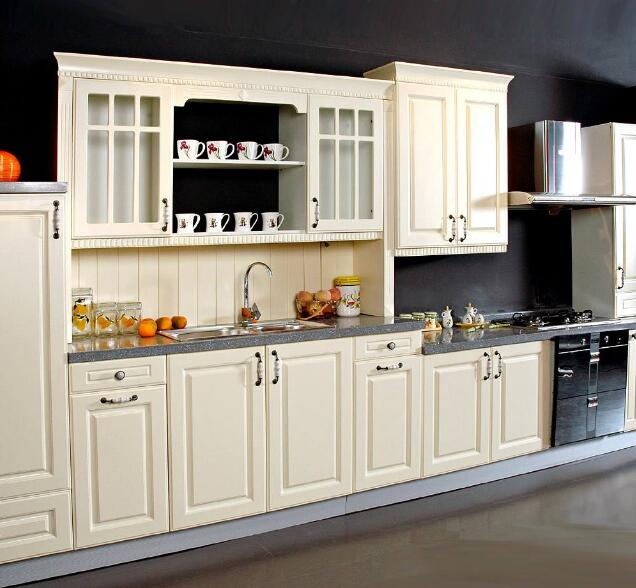 High-end customized manufacturers modern wood kitchen cabinet